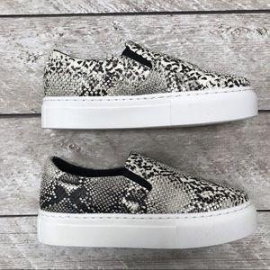 Stephanie Sneakers- Snake